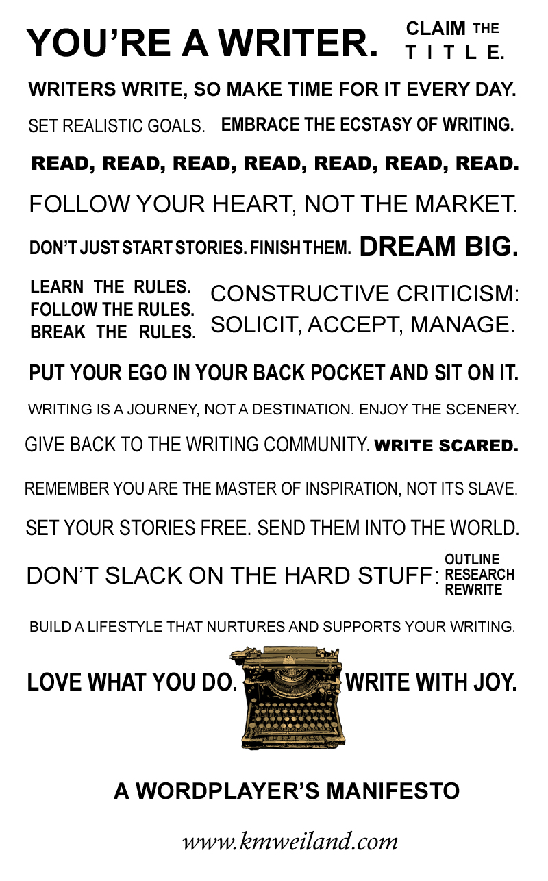 Writer Manifesto